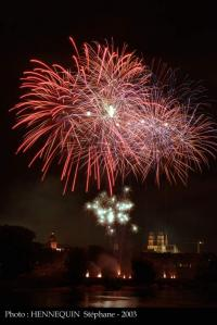 feu d'artifice a orleans