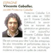 Vincente Caballer, Société Caballer Espagne