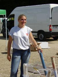 Vaux le Vicompte 15 et 16 août 2008. Caroline sans Efferalgan !!!