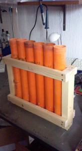 baterie de 6 mortier 50mm maison
