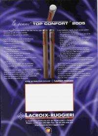 gamme top confort 2005